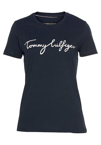 TOMMY HILFIGER T - Shirt »HERITAGE CREW NECK GRAPHIC TEE« kaufen