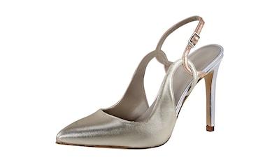 Slingpumps im Metallic - Look kaufen