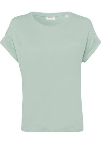 Marc O'Polo DENIM Kurzarmshirt, mit modischen Krempelärmeln kaufen