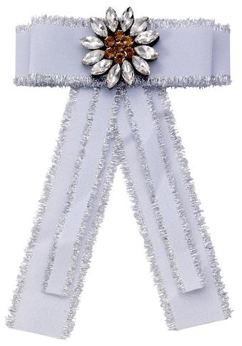 J.Jayz Brosche »Ansteckschmuck in Form einer Schleife mit dekorativer Blume« kaufen