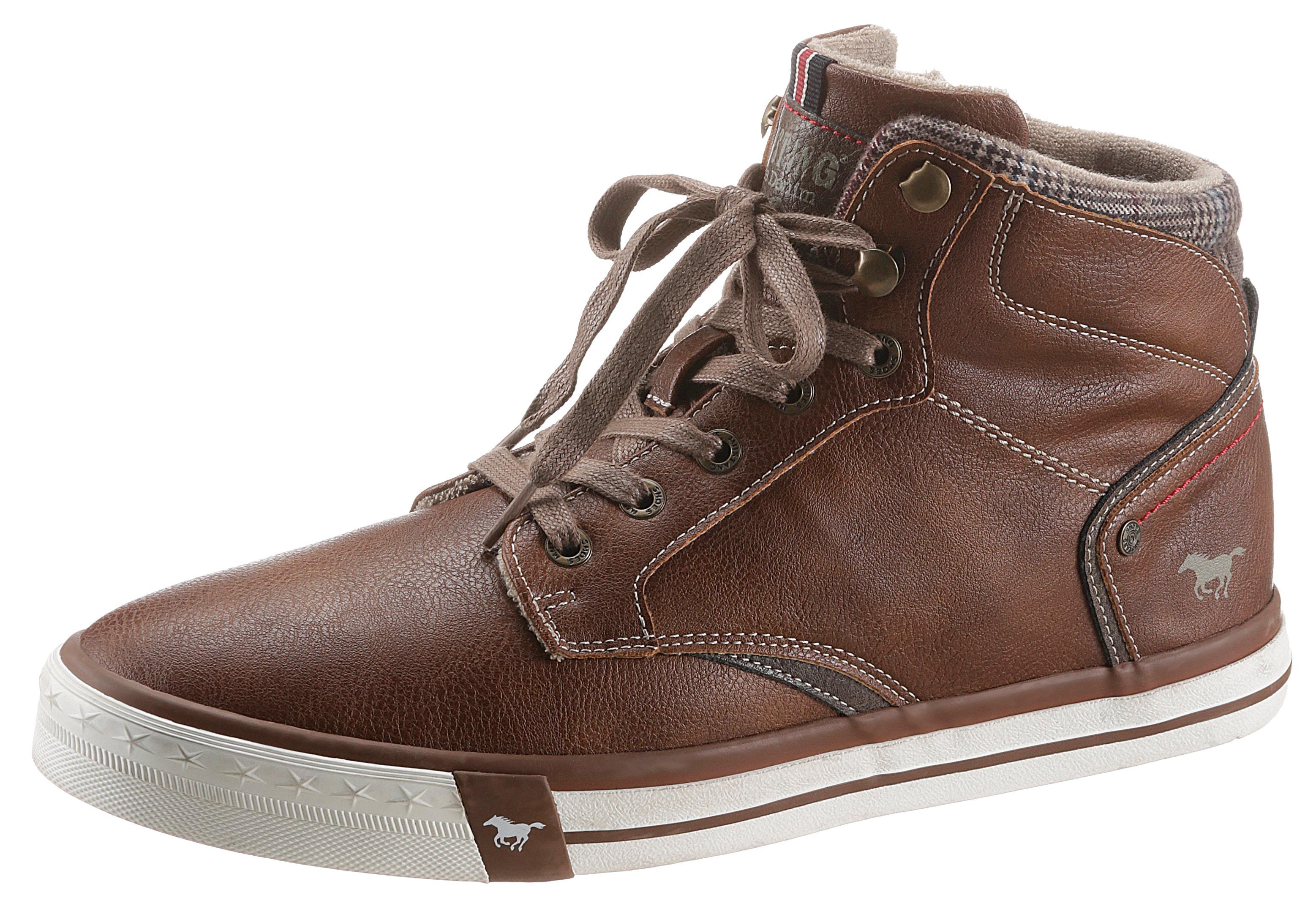 mustang shoes -  Sneaker, mit Innenreißverschluss