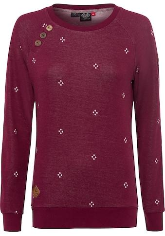 Ragwear Sweater »DARIA DOTS«, Crew Neck mit Allover-Druck kaufen
