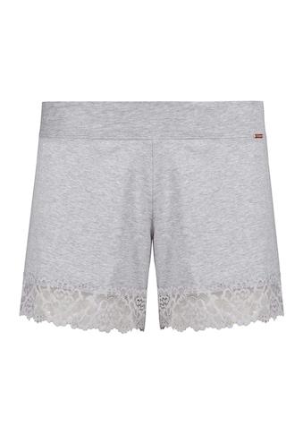 Skiny Shorts mit Spitzendetail als Beinabschluss kaufen