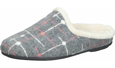 COSMOS Comfort Pantolette »Filz« kaufen