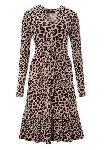 Aniston CASUAL Jerseykleid, mit Animal-Print - NEUE KOLLEKTION kaufen