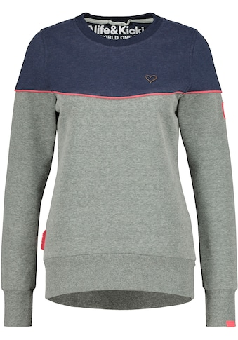Alife & Kickin Sweatshirt »DarleenAK«, mehrfarbiger Crewneck-Sweater mit Kontrastdetails kaufen