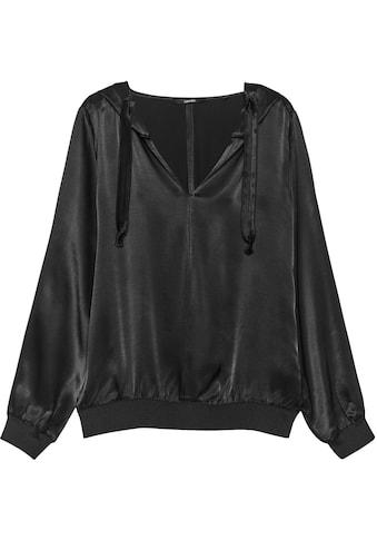 someday Shirtbluse »Zuena«, mit weicher Kapuze kaufen