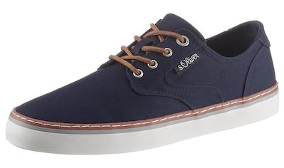 s.Oliver Sneaker, mit Kontrast-Rahmennaht kaufen