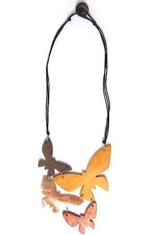 COLLEZIONE ALESSANDRO Kette mit Anhänger »Schmetterling, C2214-F30« kaufen