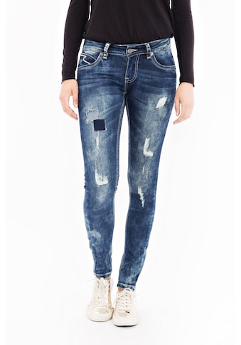 Blue Monkey Skinny - fit - Jeans »Laura 1608« kaufen