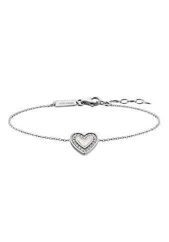 Julie Julsen Armband »Amore, Herz, JJBR0322.1«, mit Zirkonia kaufen