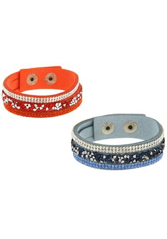 La Piora Armband »Armband Set«, orange & hellblau kaufen