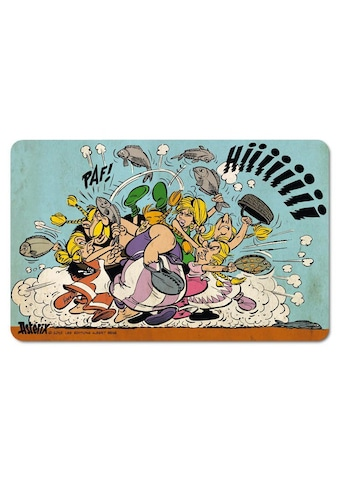 LOGOSHIRT Frühstücksbrettchen im farbenfrohen Asterix & Obelix-Design kaufen
