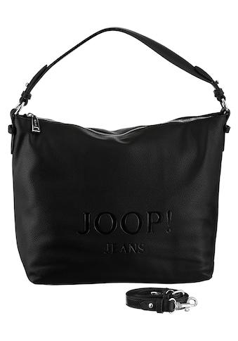 Joop Jeans Hobo »lettera dalia hobo lhz«, mit großem Ton-in-Ton Logo kaufen