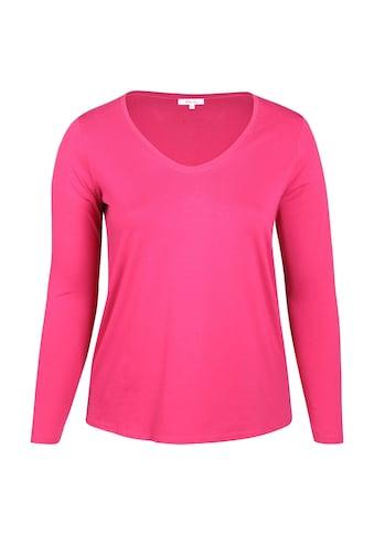Paprika T-Shirt »bunt bedruckt«, aus warmen Material kaufen