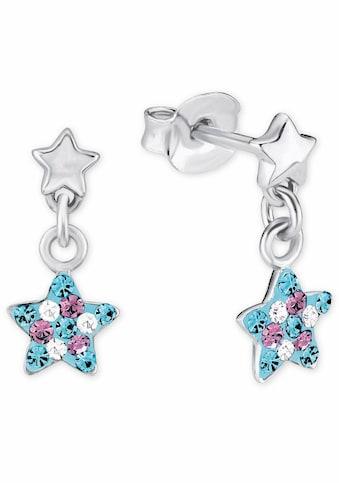 Prinzessin Lillifee Paar Ohrstecker »Stern, 2013176«, mit Kristallsteinen kaufen