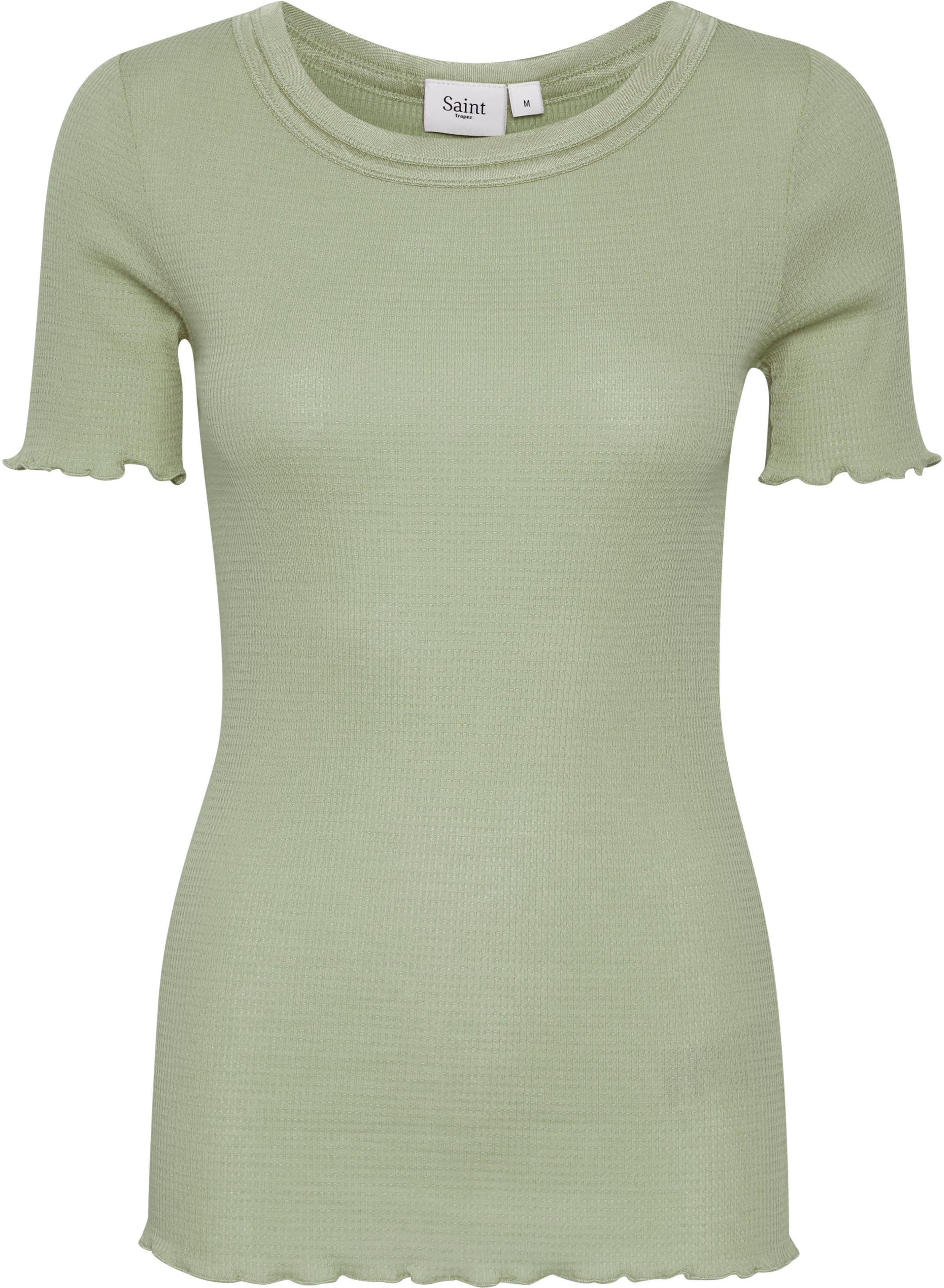 saint tropez -  Rundhalsshirt, mit Seide und in frühlingsfrischen Farben