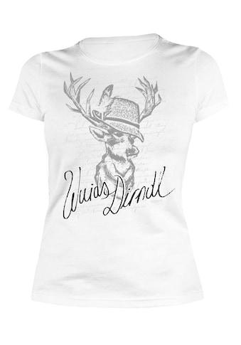 Der Trachtler T-Shirt mit lässigem Print kaufen