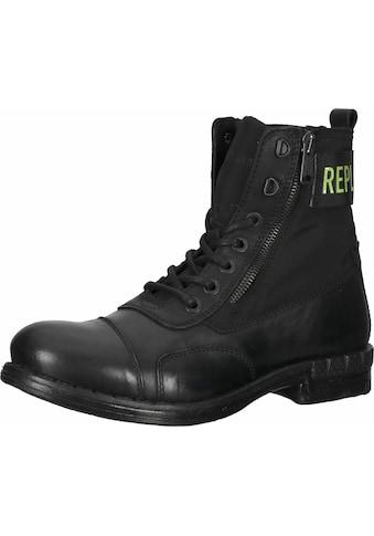 Replay Schnürstiefelette »Leder« kaufen