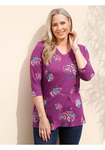 MIAMODA 3/4-Arm-Shirt, mit floralem Muster kaufen