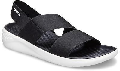 Crocs Riemchensandale »LiteRide Stretch Sandal«, in klassischem Look kaufen