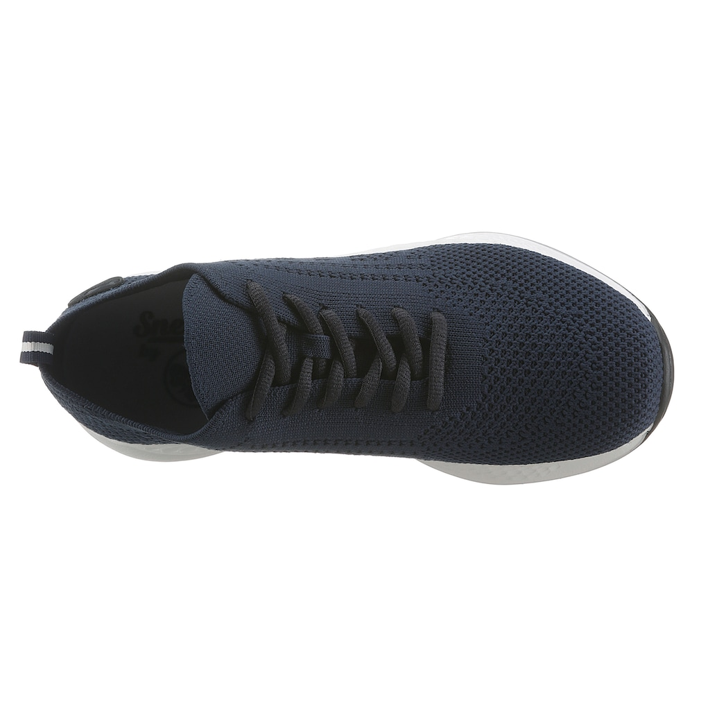 Rieker Sneaker, in gestricktem Look