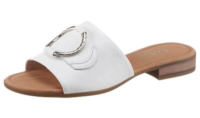 Gabor Pantolette »RHODOS«, mit Zierring in Metalloptik kaufen