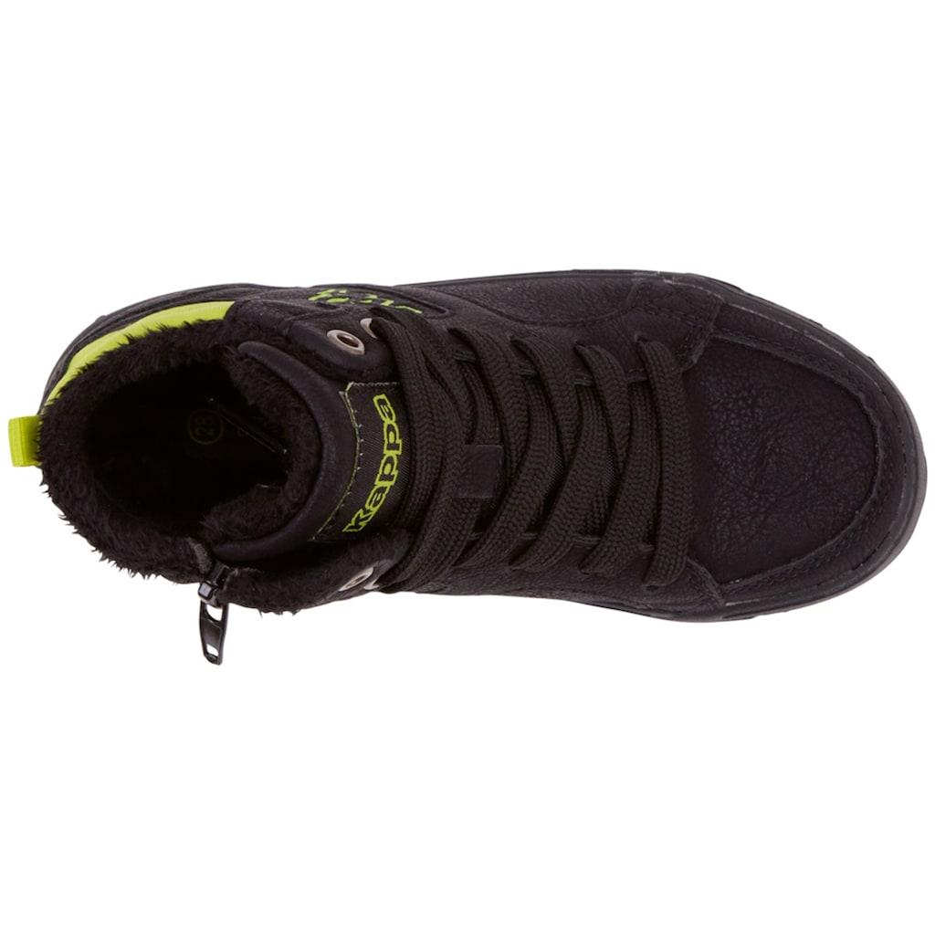 Kappa Sneaker »GRAFTON TEENS«, mit praktischem Rei&szlig;verschluss an der Innenseite<br />