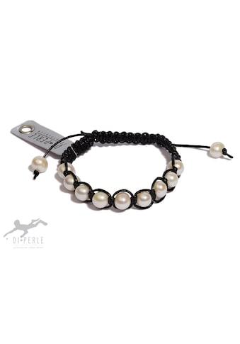 DI PERLE Perlenarmband »Süsswasser Perlen Armband«, Damen Perlenschmuck kaufen