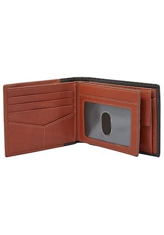 Fossil Geldbörse »Ward«, aus Leder mit RFID Blocker für mehr Sicherzeit kaufen