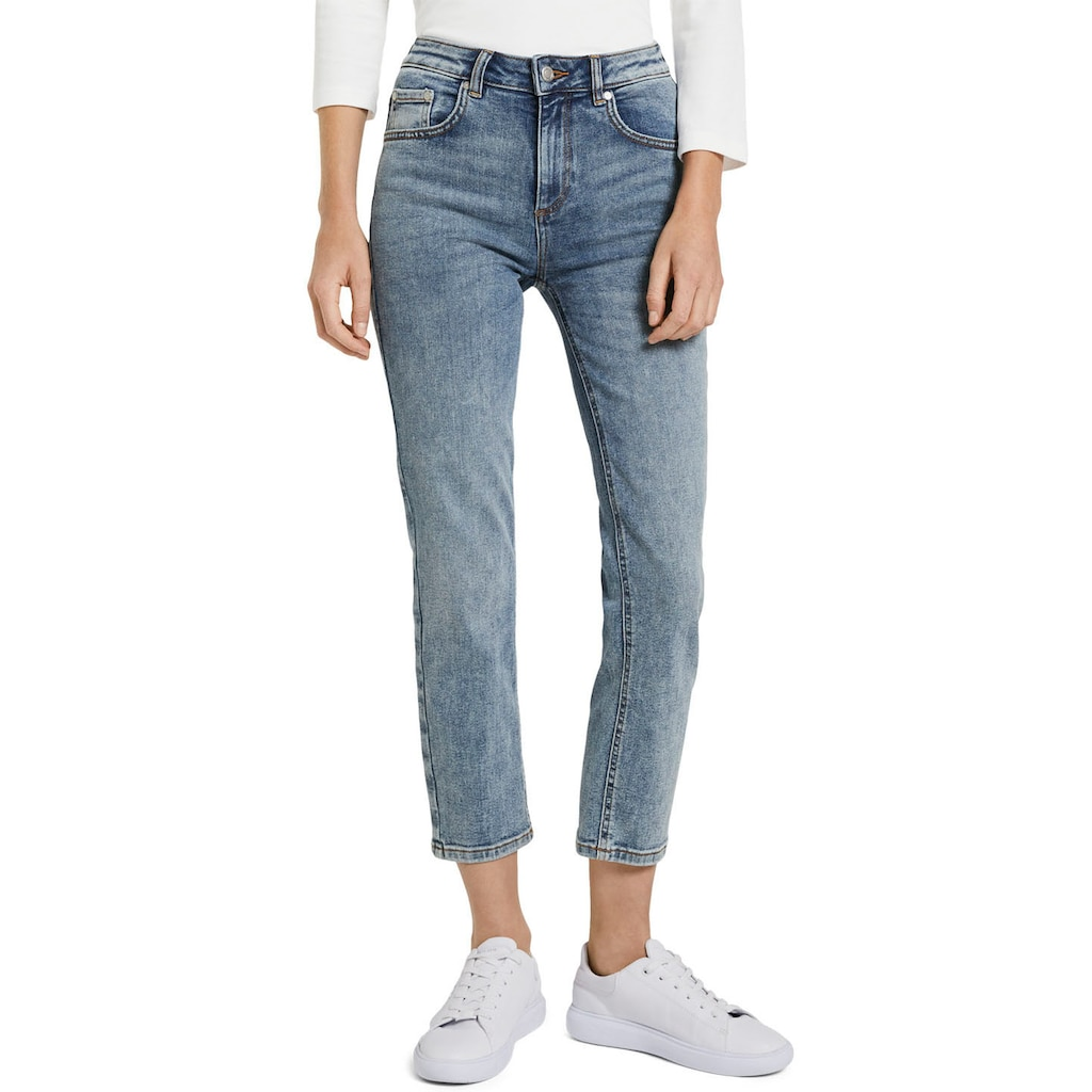 TOM TAILOR Straight-Jeans, mit coolen Waschungen