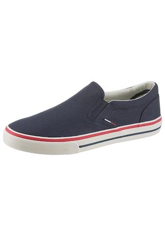 TOMMY JEANS Sneaker »TOMMY JEANS TEXTILE SLIP ON« kaufen