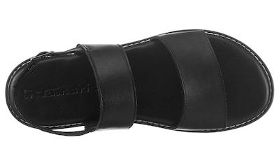 Tamaris Sandale »PEPPOLA«, mit modischer Kontrastnaht kaufen