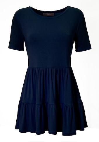 Aniston CASUAL T-Shirt, mit Volant am Saum - NEUE KOLLEKTION kaufen
