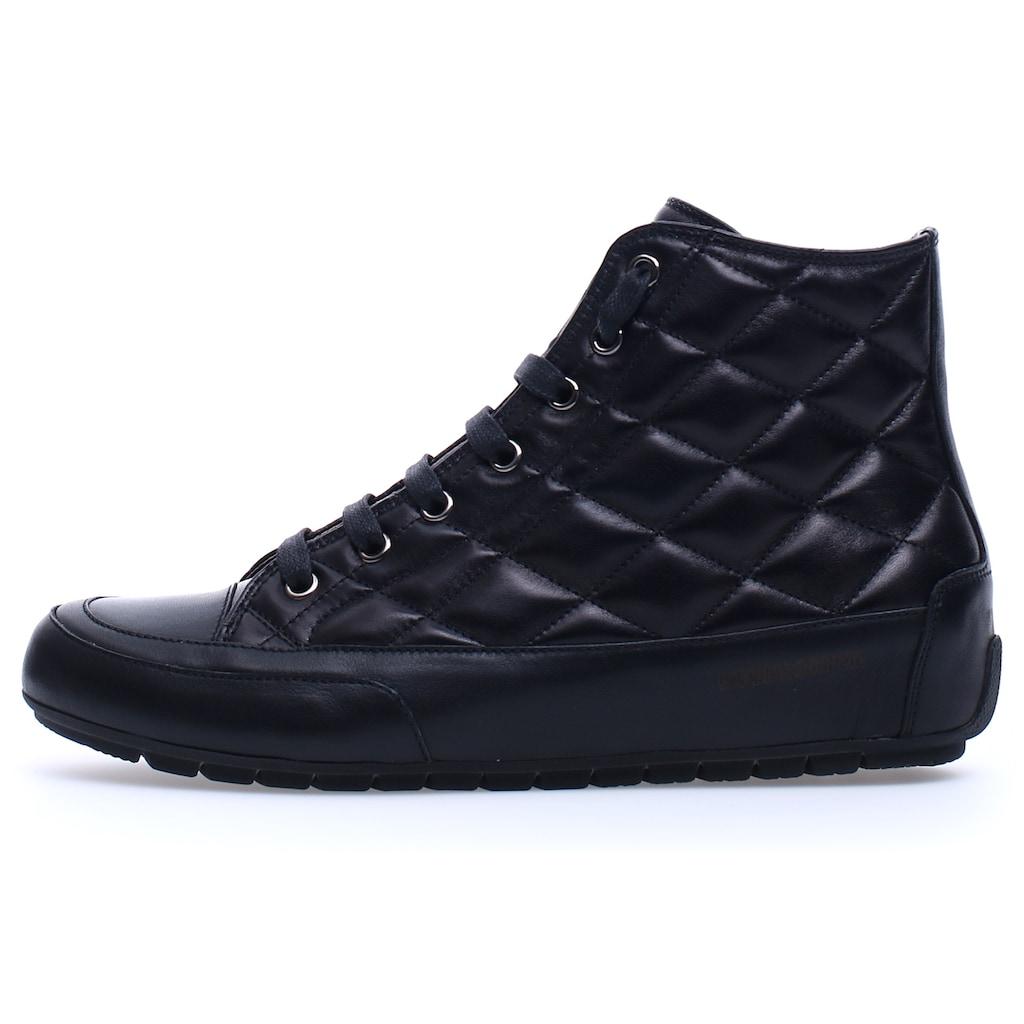 Candice Cooper Sneaker »PLUS BORD«, aus wertigem Leder mit angesagter Ziersteppung