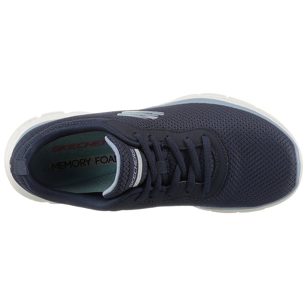 Skechers Sneaker »FLEX APPEAL 4.0 BRILLINAT VIEW«, mit Air-Cooled Memory Foam Ausstattung