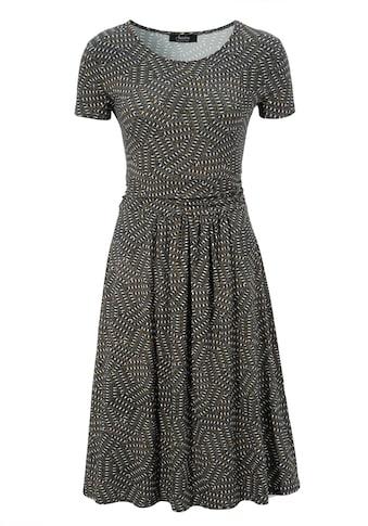 Aniston SELECTED Jerseykleid, im modischen Allover-Print - NEUE KOLLEKTION kaufen