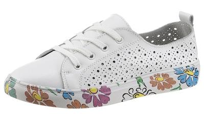 COSMOS Comfort Sneaker, Sohle mit Blumendruck kaufen