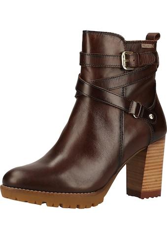 PIKOLINOS High-Heel-Stiefelette »Leder« kaufen