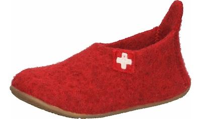 Living Kitzbühel Hausschuh »Schurwolle« kaufen