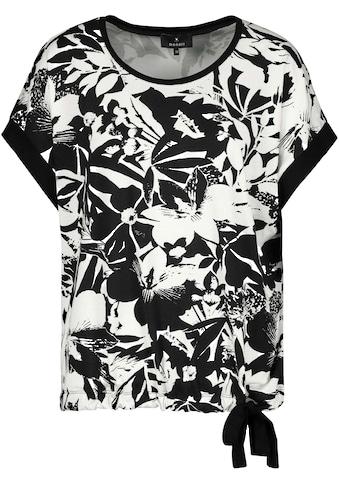 Monari Kurzarmshirt, mit Allover-Blumendruck kaufen