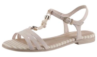 Tamaris Sandale »IRENE«, im maritimen Look kaufen