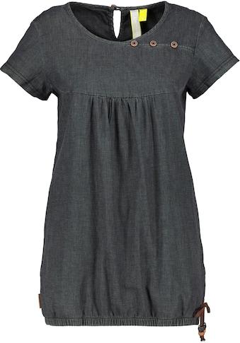 Alife & Kickin T-Shirt »SummerAK«, süßes Jeans-Shirt in Stretchqualität mit Seitentaschen& Knopf-Details kaufen