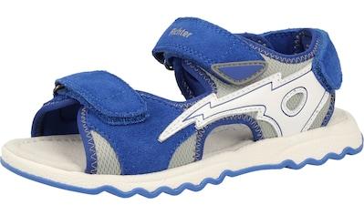 Richter Sandale »Leder/Textil« kaufen